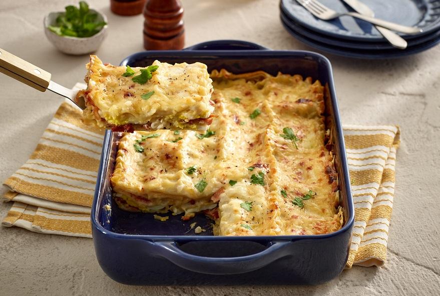 white sauce lasagna