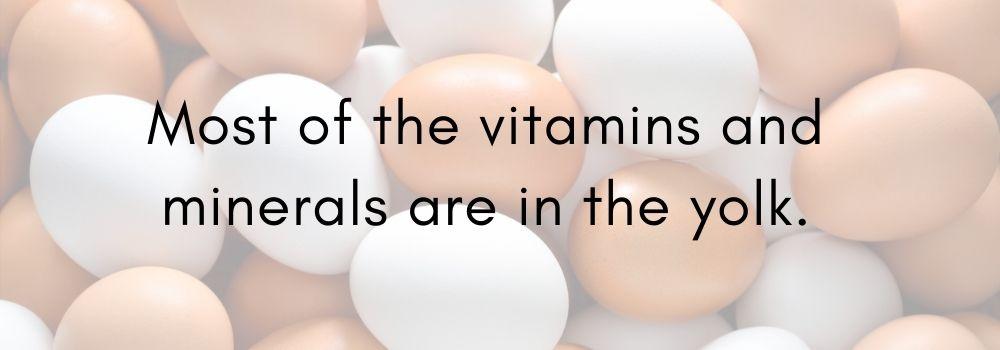 yolk vitamins