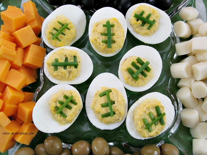 Devilled Egg Footballs