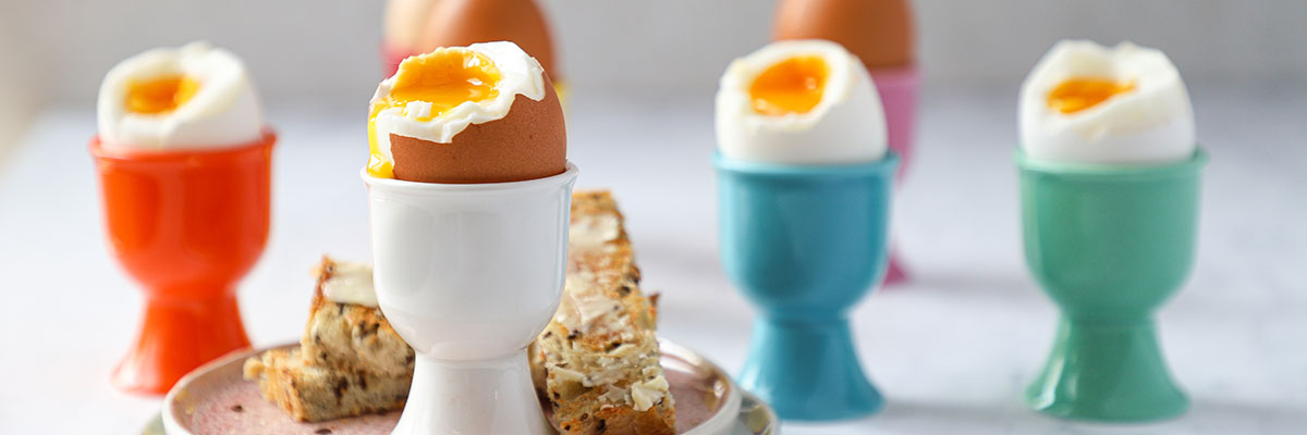 dipping eggs