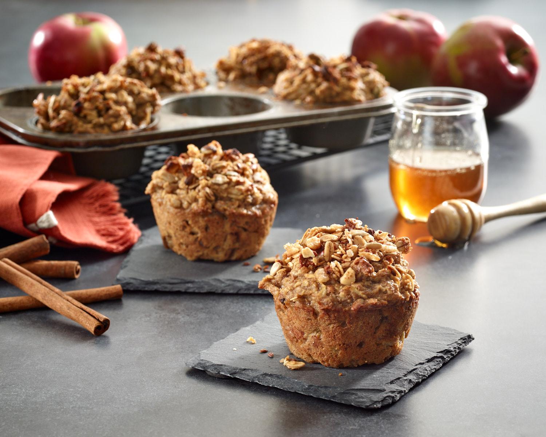 Apple Oat Breakfast Muffin