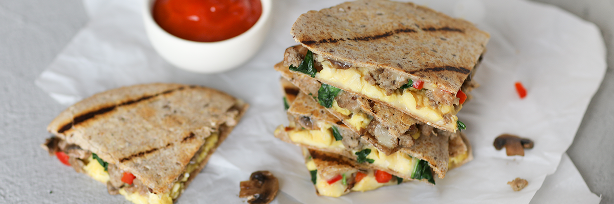 Breakfast Quesadilla Recipe
