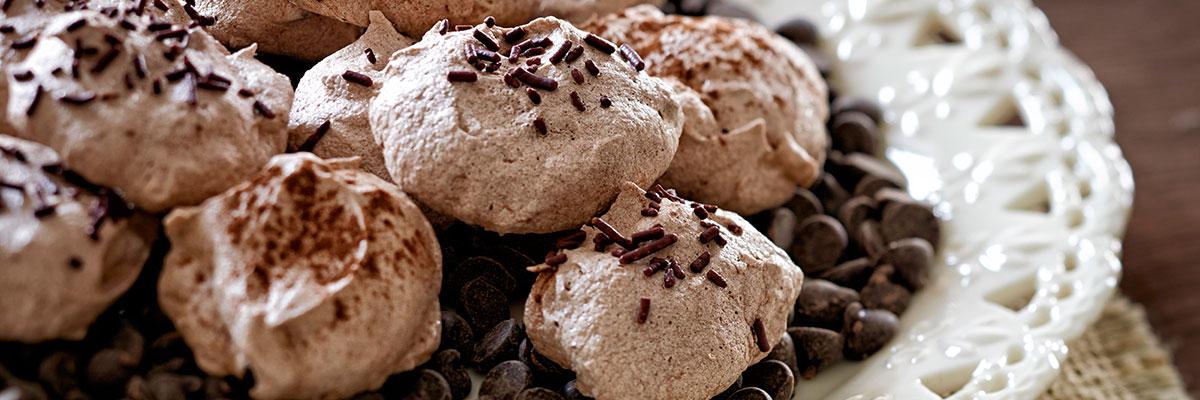 Chocolate Chip Meringue Cookies