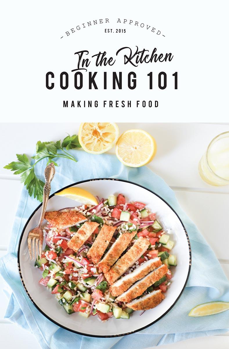 Cooking 101 Making Fresh Food Recipe Book