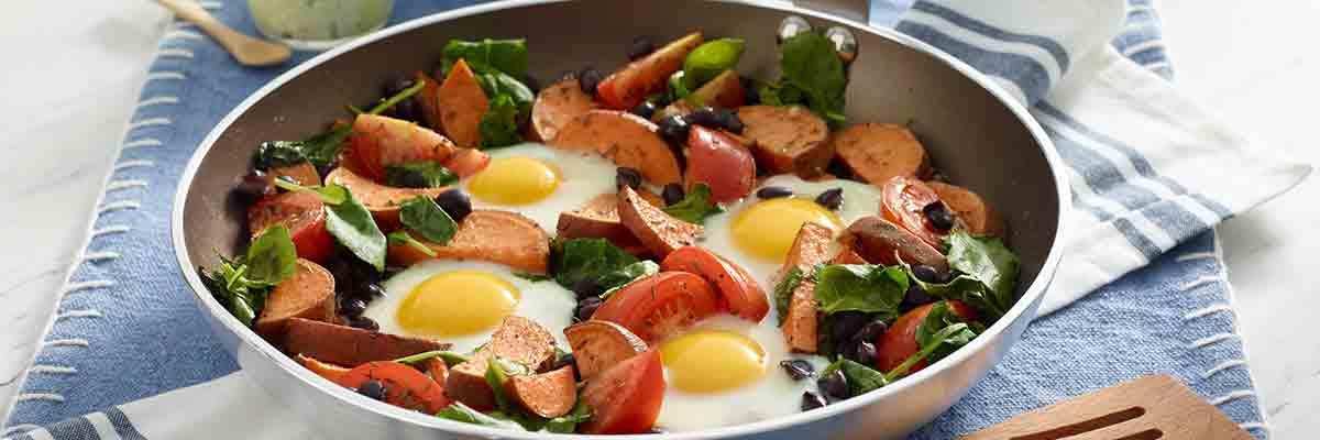 Egg Veggie Skillet