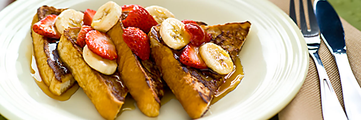 Chocolate Banana French Toast