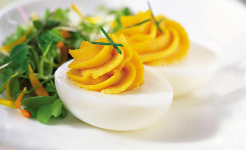 Devilled eggs 7 ways