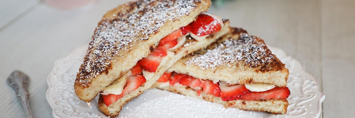Strawberry Banana French Toast